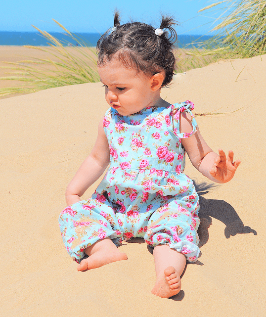 Baby Girls Floral Romper