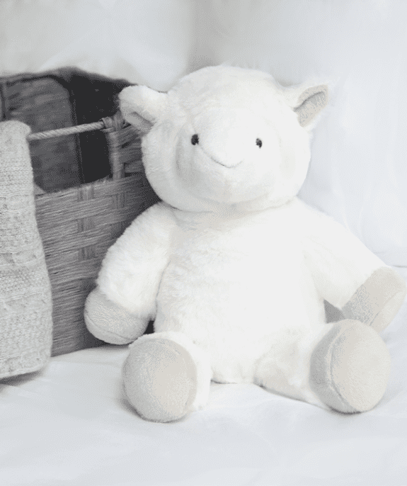 archie the sheep newborn toy