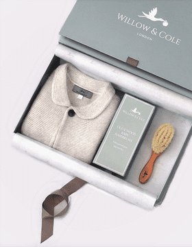 Luxury Cashmere and Baby Brush Gift Set
